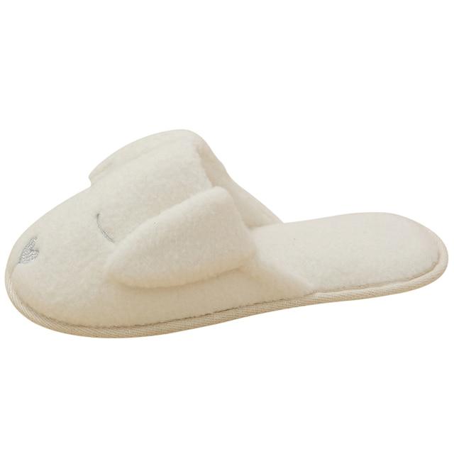 Mignon chien Animal motif coton maison pantoufles femmes chaussures dintérieur pour chambre adulte maison dhôtes pantoufles hiver doux bas appartements