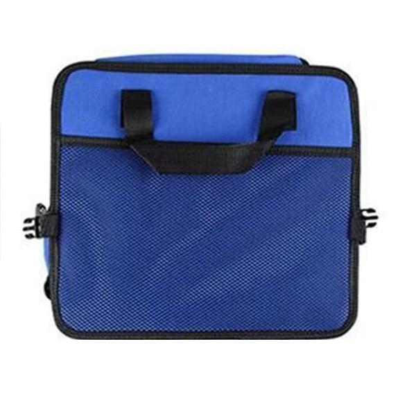 Универсальный автомобильный органайзер для хранения багажник складные ящики для хранения игрушек, продуктов грузовой контейнер сумки черный ящик автомобиль Укладка Уборка - Название цвета: Синий