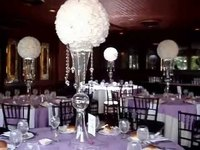 40cm Silk Rose Pomander White Flower Ball Bridal Wedding Decor Favor Party Kissing Balls Wedding bouquet Free Shipping 4pcs/lot