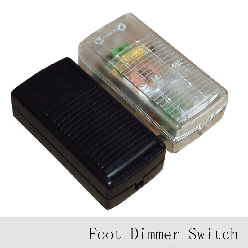 1pc 220v Lamp Foot Dimmer Switch Floor Light Table Lamp Foot Push