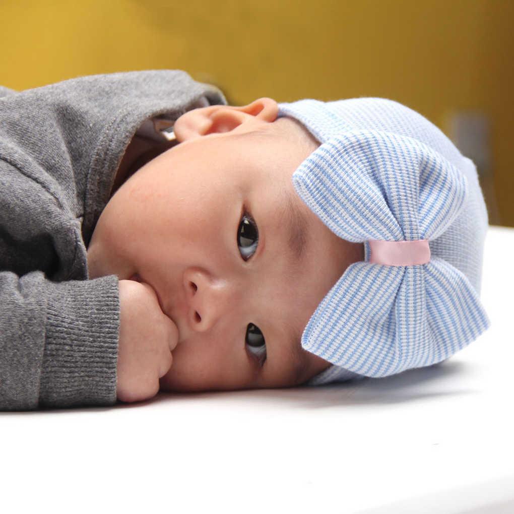 แฟชั่นทารกแรกเกิดเด็กน่ารักฤดูหนาวเด็กหมวกถัก Hemming หมวกคุณภาพดีเด็กอบอุ่นถักหมวกเด็กแรกเกิดหมวก