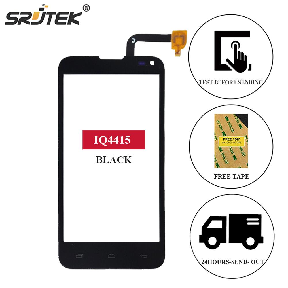Srjtek For Fly IQ4415 IQ 4415 Quad Era Style 3 Touch Screen Digitizer Sensor Front Glass Panel Replacement 4.5 For Fly IQ4415