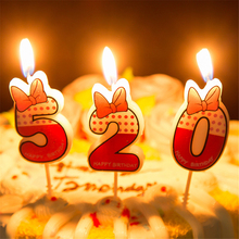 Cute Boys Girls Happy Birthday Candle Design 5cm Height 0 9 Anniversary Cake Numbers Age
