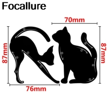 Eyebrow Stencils Cat Eyeliner Model Stencil Kit Guide Template Maquiagem 2pc/1pair Double Wing Eye Shadow Frame Card Makeup Tool