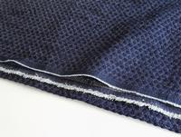 Imitated Knitted Jacquard Water washed Apron Denim Fabric For Shoes Coats Clothes And Clothes Diy Autumn And Winter Fabrics