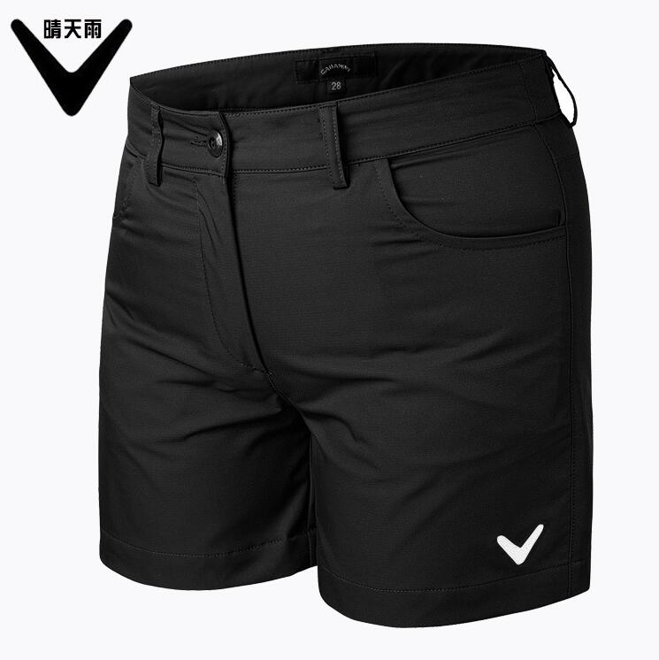 2018 summer womens sports Golf shorts Korean version slim Breathable quick-drying Solid colors Golf shorts plus size Sportswear