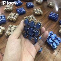 2017 Nine 9 Gears Hand Made Metal Fantastic EDC Hand Spinner Torqbar Brass Fidget Spinner for kids and adults