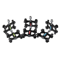 Taiwan Future Green Color Full Carbon Bike Pedals Prevent Slipping Nail Carbon Pedal