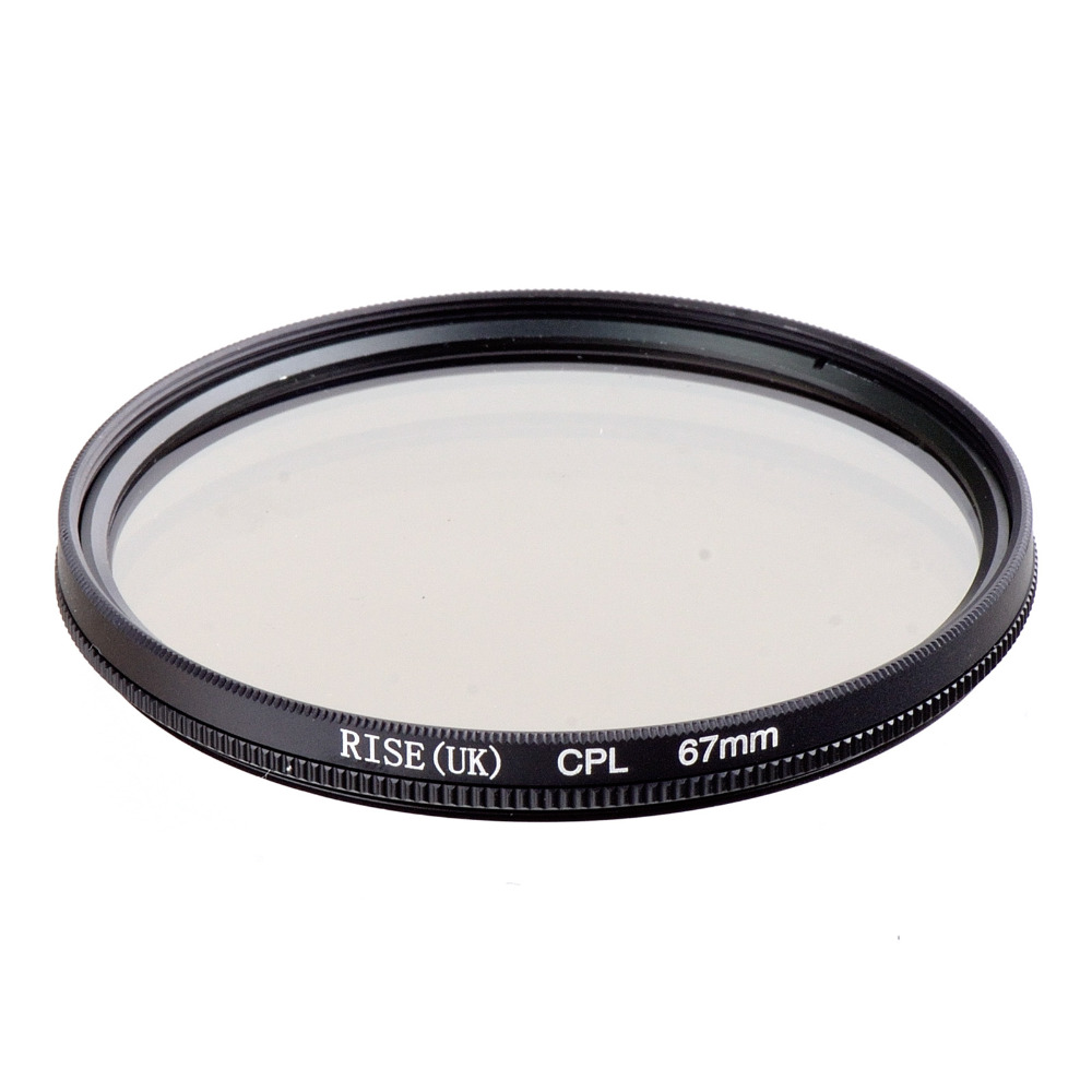 RISE UK 67mm Circular Polarizing CPL C PL Filter Lens 67mm For Canon NIKON Sony Olympus