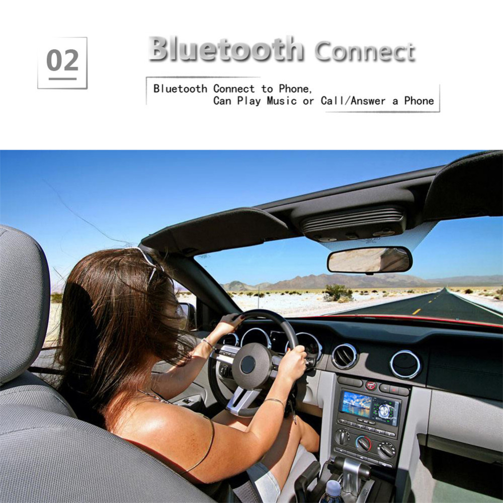 4.1 4012B Car Stereo Audio MP5 Player Bluetooth Rear View Camera MP5 Player Single Spindle MP3 Player Radio U Disk with Camera