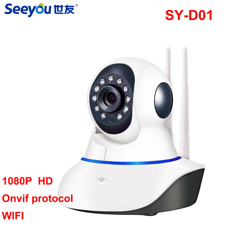 Home Security IP Camera 1080P Wireless Smart WiFi Surveillance Camera WI-FI Audio Record Surveillance SY-D011 2MP цена