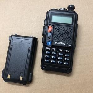 "Image 2 - Baofeng UVT2 R9 ווקי טוקי dual band 136 174 MHz (Rx/Tx) 400 520MHz עוצמה שתי דרך רדיו 10 ק""מ מכשיר קשר כף יד uvt2"