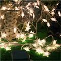 10 M 80LED Estrela Luzes Da Corda Ao Ar Livre Guirlanda Decoração de Natal festa de Casamento LED String Luzes de Natal