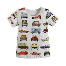 Boys T-shirt Car 2016 Tees Clothing Children TShirts Bottoming Shirt Kids Children t shirt Infantis vetement Summer Clothing
