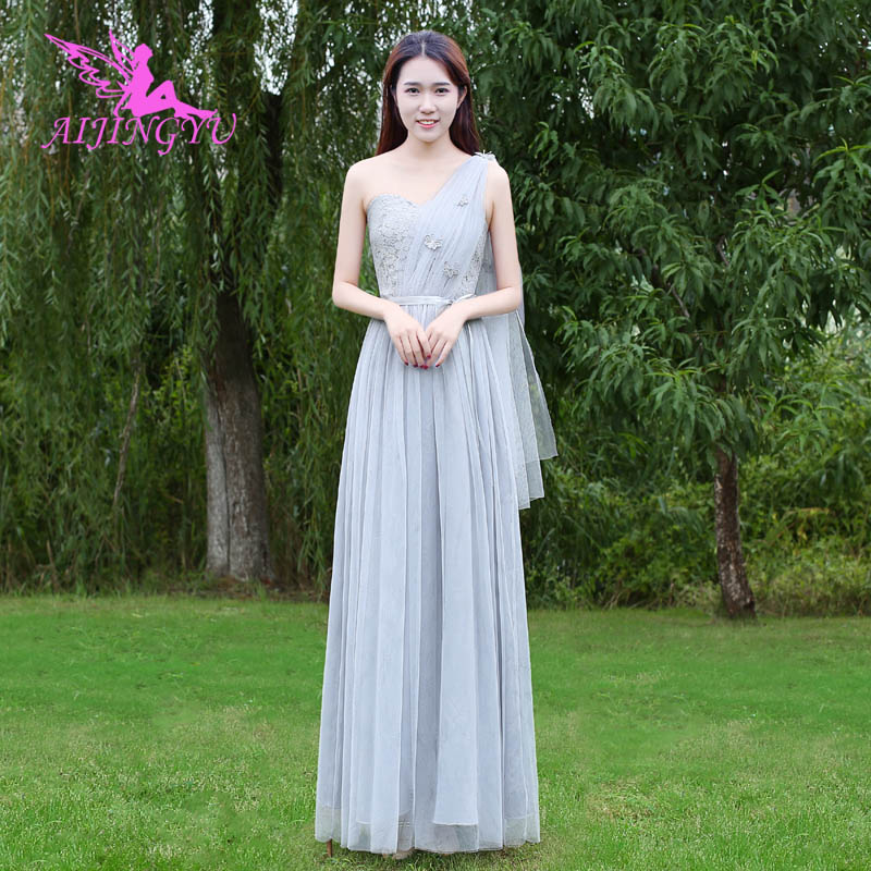 AIJINGYU 2018 hot elegant   dress   women for wedding party   bridesmaid     dresses   BN725
