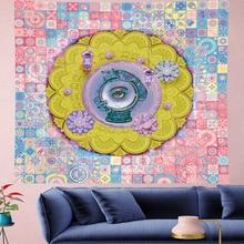 Angles eye indian mandala tapestry Wall Hanging hippies wall towel personality Home Decor bohemian Beach Mat