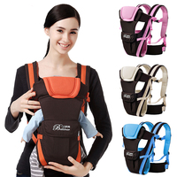 0 24 Months Newborn Baby Breathable Front Facing Carrier 4 in 1 Infant Comfortable Sling Backpack Pouch Wrap Baby Kangaroo Care