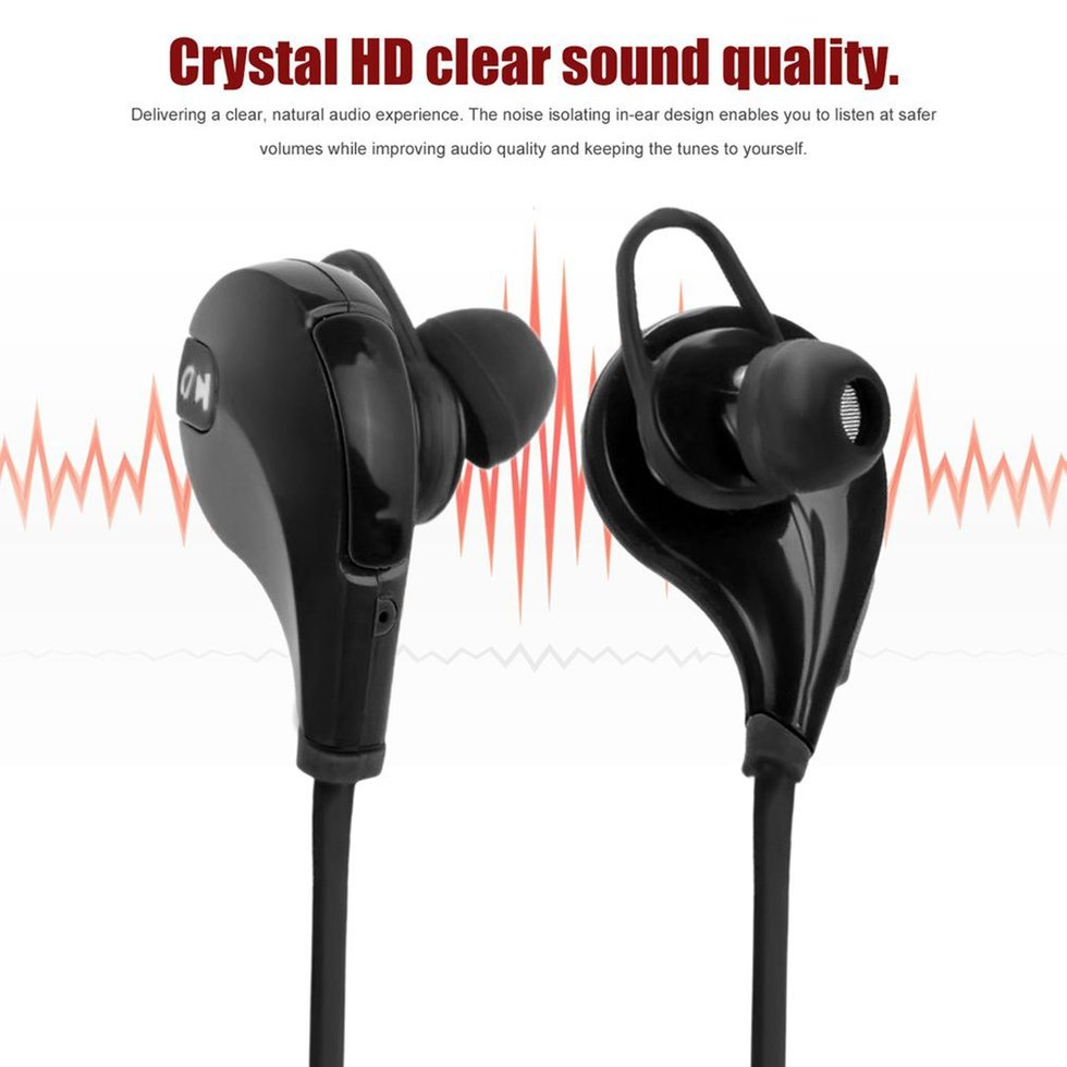 10PCS Stereo Earphone Bluetooth Headphone Wireless Earbuds Sport Universal Headset For Xiaomi Samsung 2017new stereo music bluetooth earphone mini v4 0 business wireless handfree headset headphone for xiaomi iphone universal phone