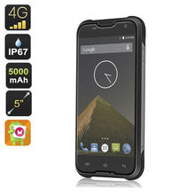 "Original Blackview BV5000 4G LTE Waterproof Phone MTK6735 5"" HD Quad Core Android 5.1 Mobile Cell Phone 2GB RAM ZUG 5S A9(China)"