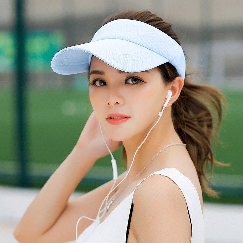 SORRYNAM Visor Sombrero Sombrero de la Marca de Sun de Las Mujeres de - Accesorios para la ropa - foto 2