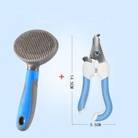 comb and scissors B