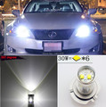2 x Super Bright 9005 HB3 LED High Beam Luzes Diurnas Para Toyota Highlander Camry Corolla Venza Prius Lexus
