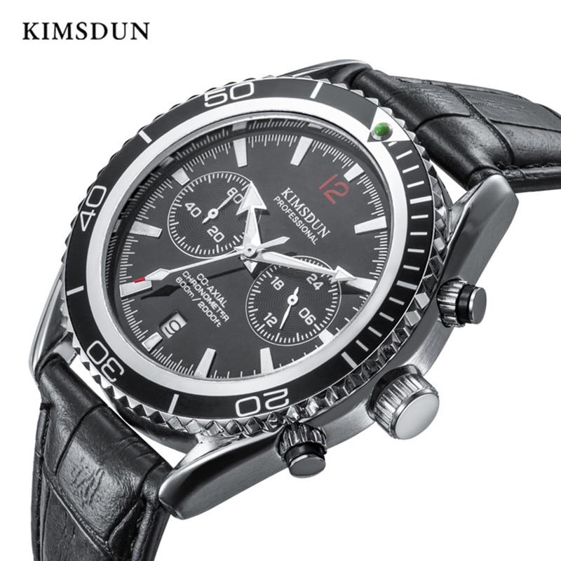 Mens Watches Top Brand Luxury Quartz Stainless Steel Waterproof Watch Men Fashion Sport Complete Calendar Wristwatch New 2019