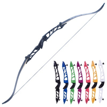68 Inches Recurve Bow  40Lbs Aluminum Alloy Bow Handle Black Limbs for Outdoor Archery Hunting Shooting ourpgone 24lbs 26lbs 66 inch aluminum alloy handle recurve bow and string entertainment practice for hunting shooting training