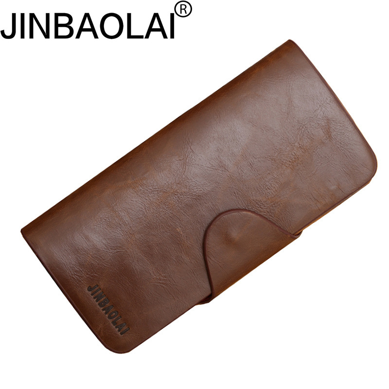 Vintage Long Phone Crazy Horse Fashion Men Wallet Male Purse Clutch Handy Perse Slim Walet Cuzdan Vallet Money Bag Card Holder men wallet male cowhide genuine leather purse money clutch card holder coin short crazy horse photo fashion 2017 male wallets