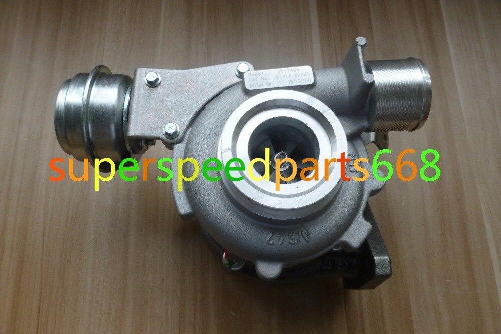 GTA1746LV GT1746V 761618-0003 761618 1390067JH1 8200735758 turbo turbocompresseur pour Suzuki Vitara 1.9 DDIS F9Q264-266 130HP