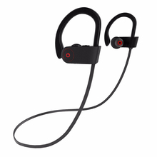 Bluetooth Earphone Stereo Fitness Running Sports Wireless Headphone for iPhone 8 7 6 Plus Samsung S8 Headset with Microphone