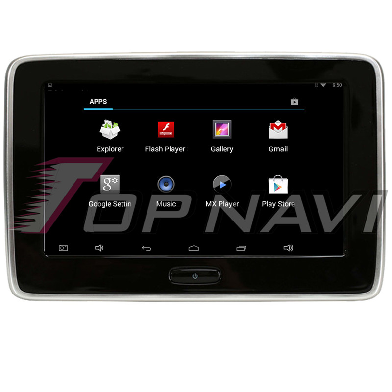 Car Headrest DVD Monitor Player HD 1080P Video