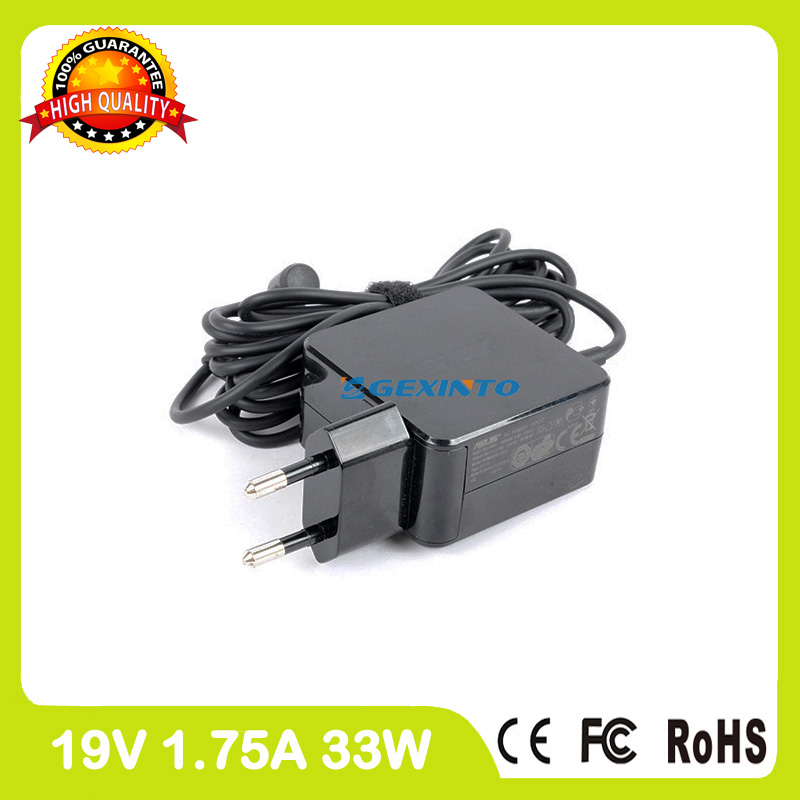 19V 1.75A 33W laptop adapter charger for Asus X201E X202 X202E X453M X453MA X553M X553MA X553SA