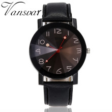 Vansvar Ladies Watch Beautiful Fashion Simple Leather Belt Watches Female Clock moda mujer 2019 bayan kol saati