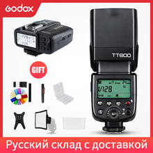 Godox TT600 2.4G Wireless Camera Flash Speedlite + X1T C/N/F Transmitter Wireless Flash Trigger
