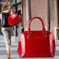 Freeship! оболочки формирование женская сумочка бренд дизайнер лакированной кожи мода Люкс винтаж сумка bolsas вечер