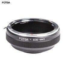 FOTGA עדשת מתאם טבעת עבור Canon EF/EFs אולימפוס פנסוניק מיקרו 4/3 m4/3 E P1 G1 GF1 GH5 GH4 GH3 GF6 מצלמות