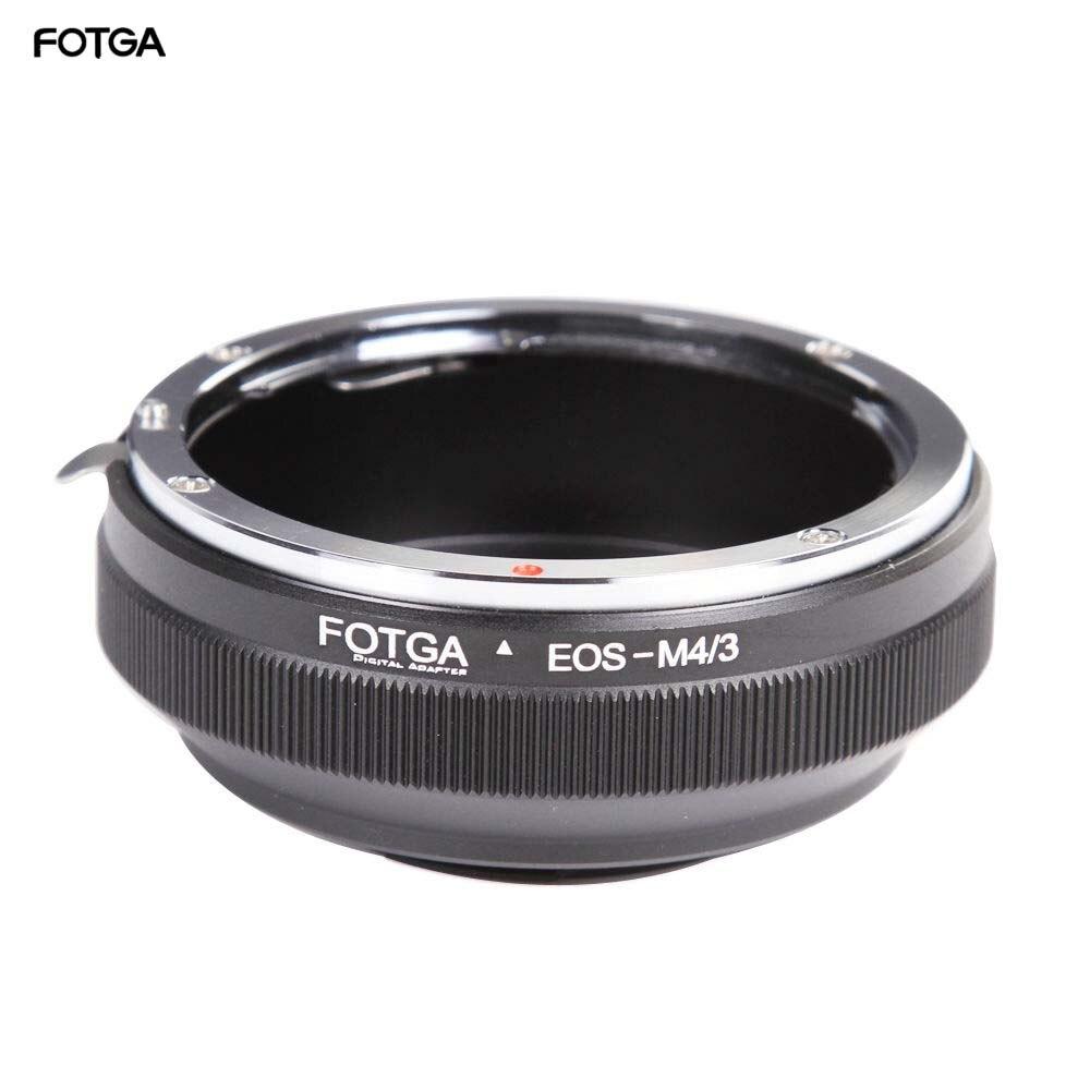 FOTGA Lens Adapter Ring for Canon EF/EFs Lens to Olympus Panasonic Micro 4/3 m4/3 E-P1 G1 GF1 GH5 GH4 GH3 GF6 Cameras