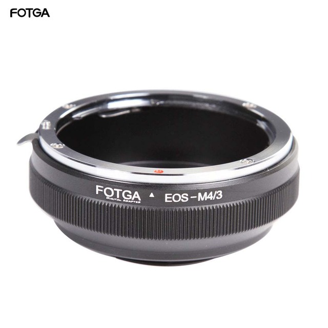 FOTGA canon için Lens adaptör halkası EF/EFs Lens Olympus Panasonic Mikro 4/3 m4/3 E P1 G1 GF1 GH5 GH4 GH3 GF6 Kameralar