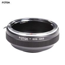 Lente fotga adaptador anel para canon ef/efs lente para olympus panasonic micro 4/3 m4/3 E P1 g1 gf1 gh5 gh4 gh3 gf6 câmeras