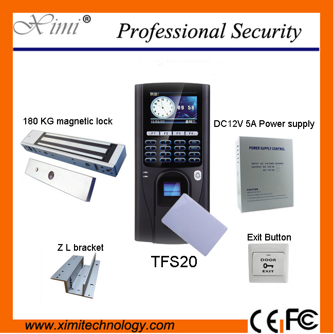 3000 user independent TFS20 biometric fingerprint access control system has RS485, TCP/IP communication and Mifare reader f2 tcp ip 3000 users fingerprint sensor free software biometric fingerprint access control