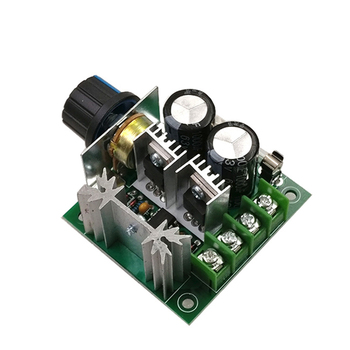 DC Motor Drive With High-Quality Potentiometer And Power Reverse Connection