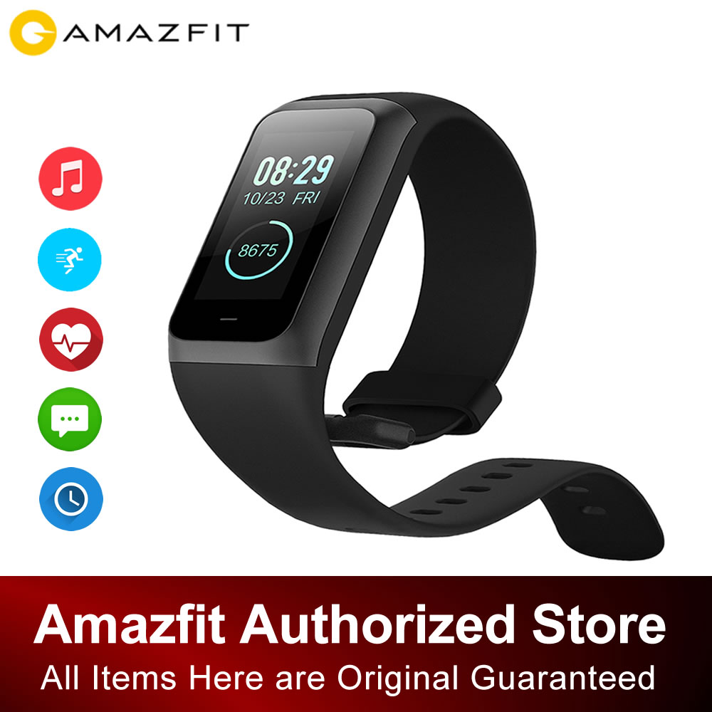 Original <font><b>Xiaomi</b></font> <font><b>Huami</b></font> <font><b>Amazfit</b></font> Updated <font><b>Cor</b></font> <font><b>2</b></font>/<font><b>Band</b></font> <font><b>2</b></font> Sport 5ATM Waterproof Smart Bracelet With 20days Standby Time for Android IOS image