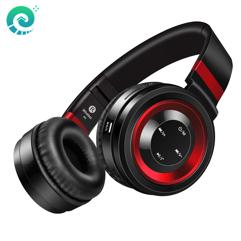 Bluetooth Headphone With Mic Wireless Headphones Support TF Card FM Radio Bass Headset For Mobile Phone iphone xiomi Computer earfun brand big headphones with mic