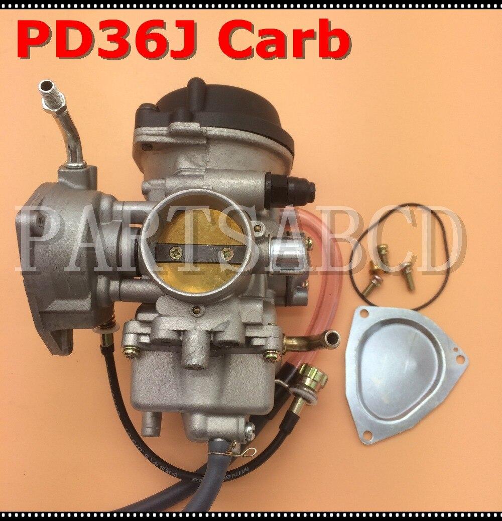 PARTSABCD 36 мм PD36J карбюратор ATV UTV 350CC 400CC 500CC Carb в сборе
