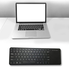 1 Pcs 2.4 GHz Keyboard Nirkabel Touchpad untuk Windows PC, Laptop, IOS Pad, Smart TV, htpc IPTV Android Kotak(China)