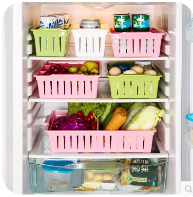 Free Shipping Kitchen Storage Basket Underwear Food Box Plastic Container Fridge Organizer 6 Styles Sn 013 In Home Organization