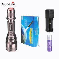 Flashlight Supfire Top Selling X5 LED Torch Camp Lamp Portable Tactical Police Light 900lm for Lantern for Lantern Light S010