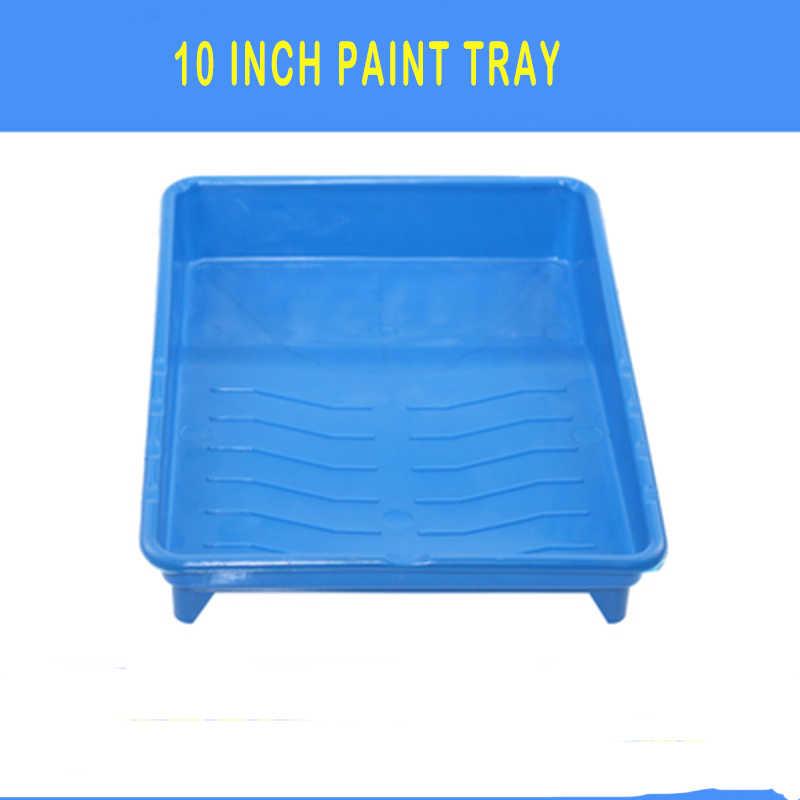 3 piezas rodillos de pintura bandeja 10 pulgadas pintura pinceles pintura arte rodillos de espuma de agua de uso doméstico de pared decorativo herramientas de bricolaje