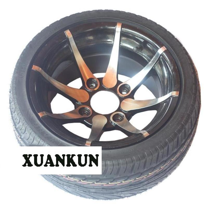 Atv atv accessoires roue moyeu plat pneu 235/30-12 pouces roue moyeu